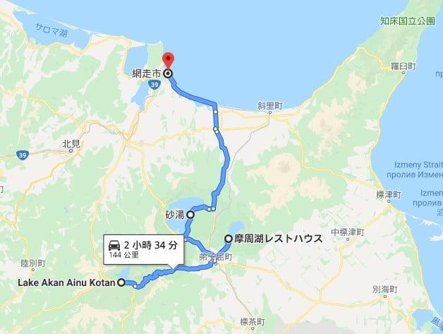 北海道道東自駕路線