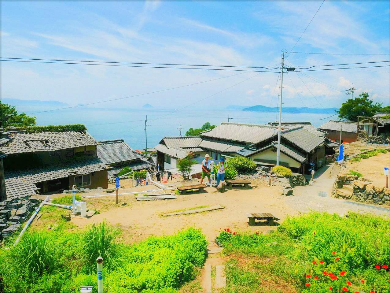 瀨戶內海男木島