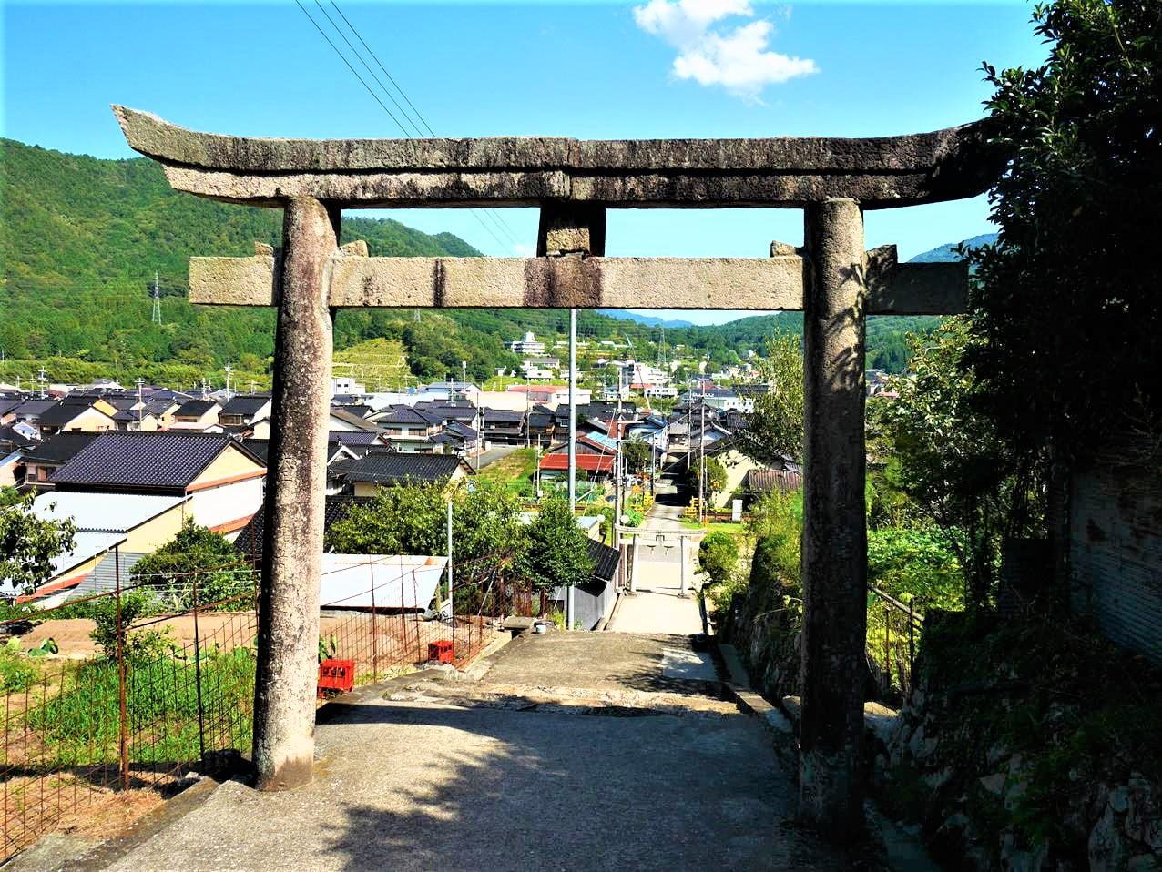 竹田表米神社鳥居