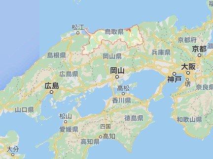 鳥取縣位置