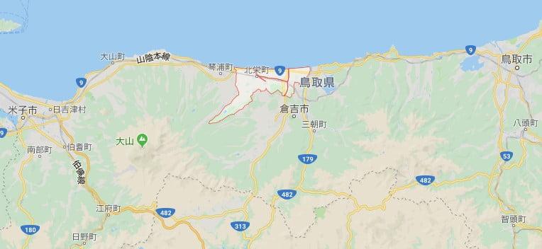 北榮町柯南小鎮位置