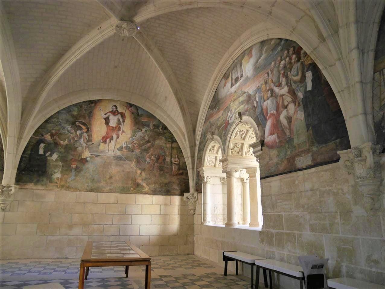 風弗洛修道院(Fontevraud)