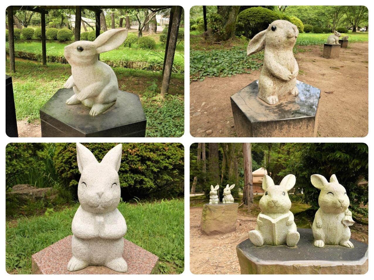 出雲大社因幡白兔