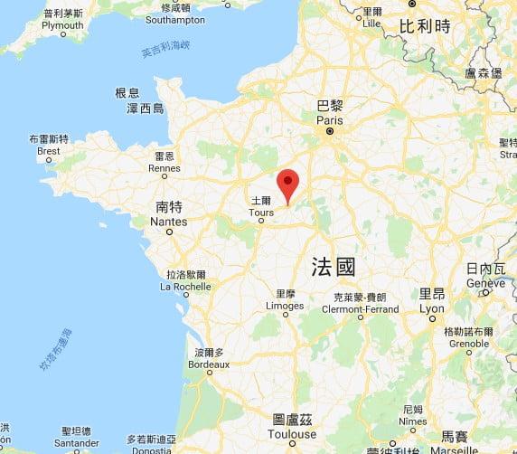 布盧瓦(Blois)位置