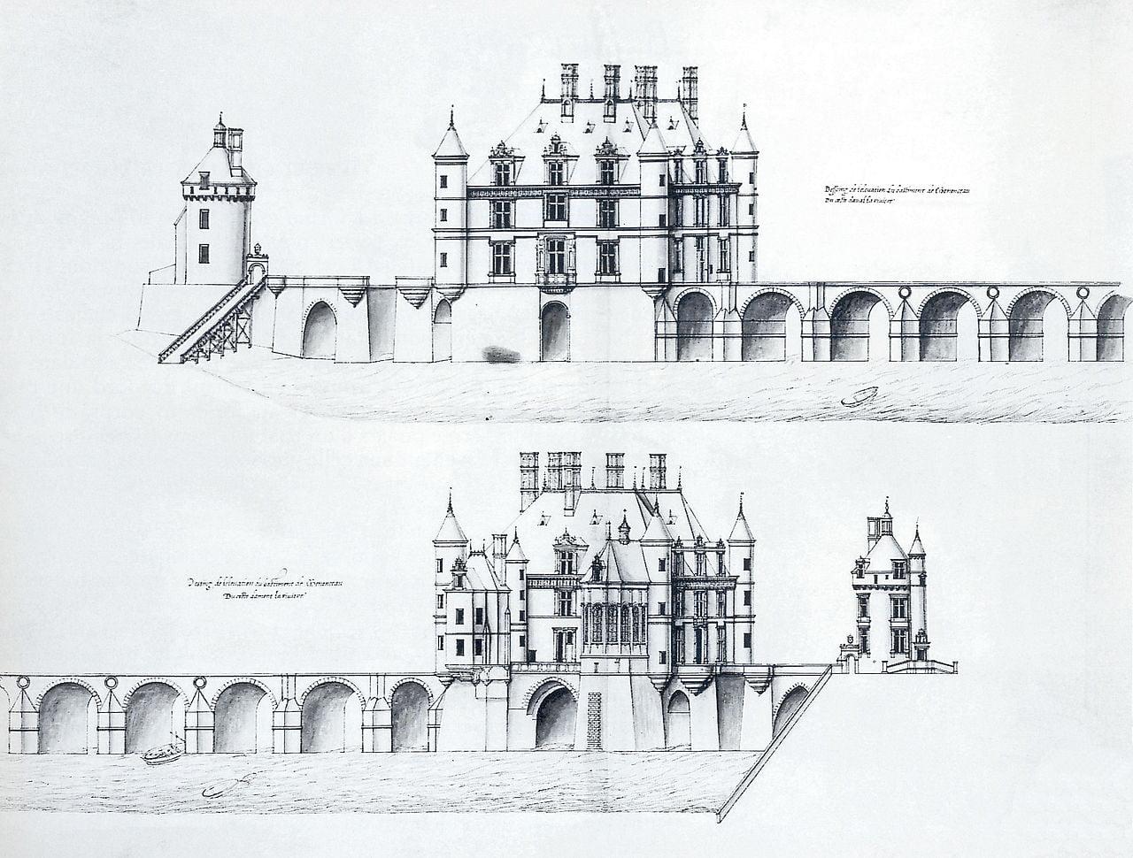 雪儂梭城堡