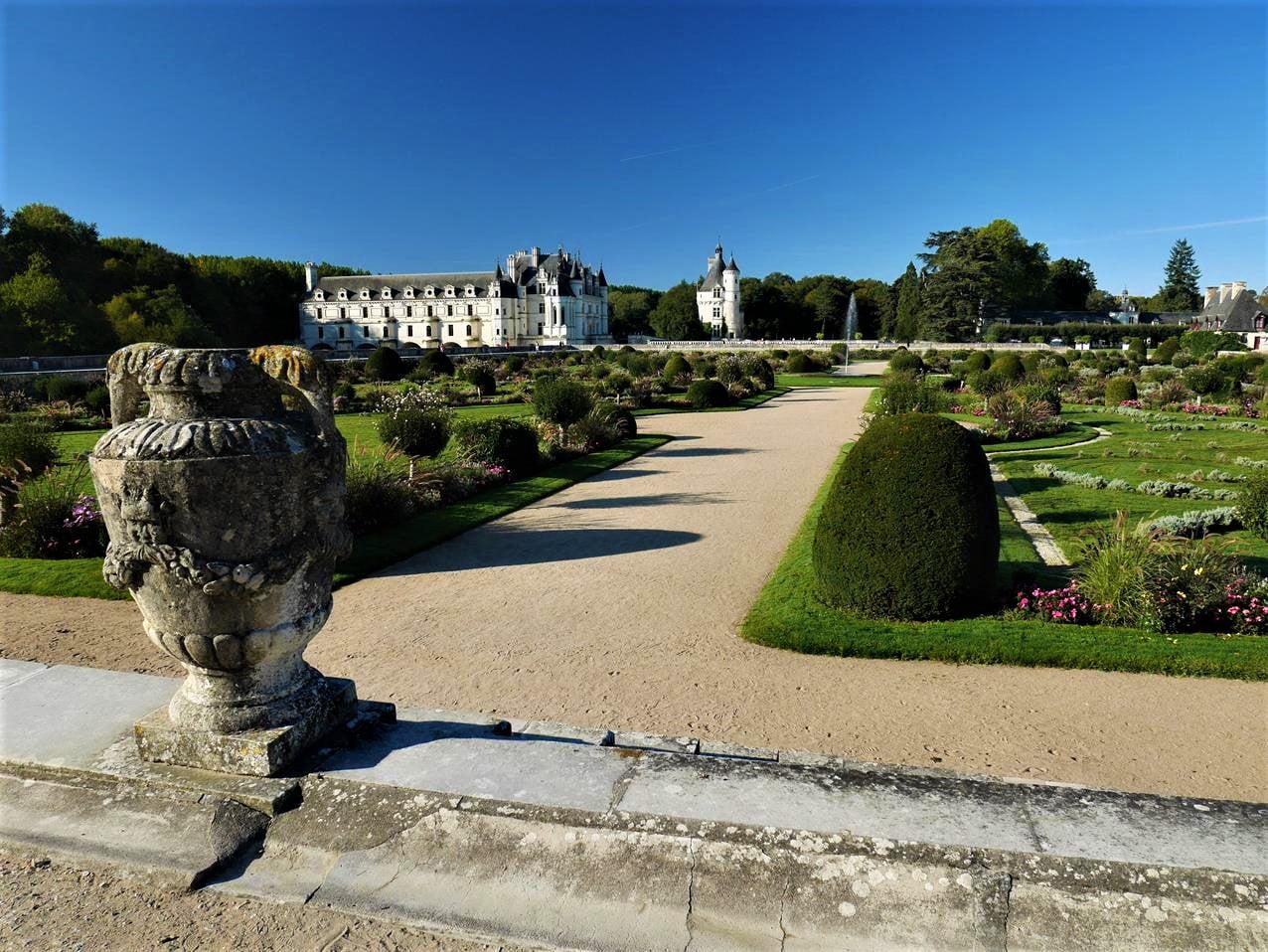 舍農索城堡黛安花園