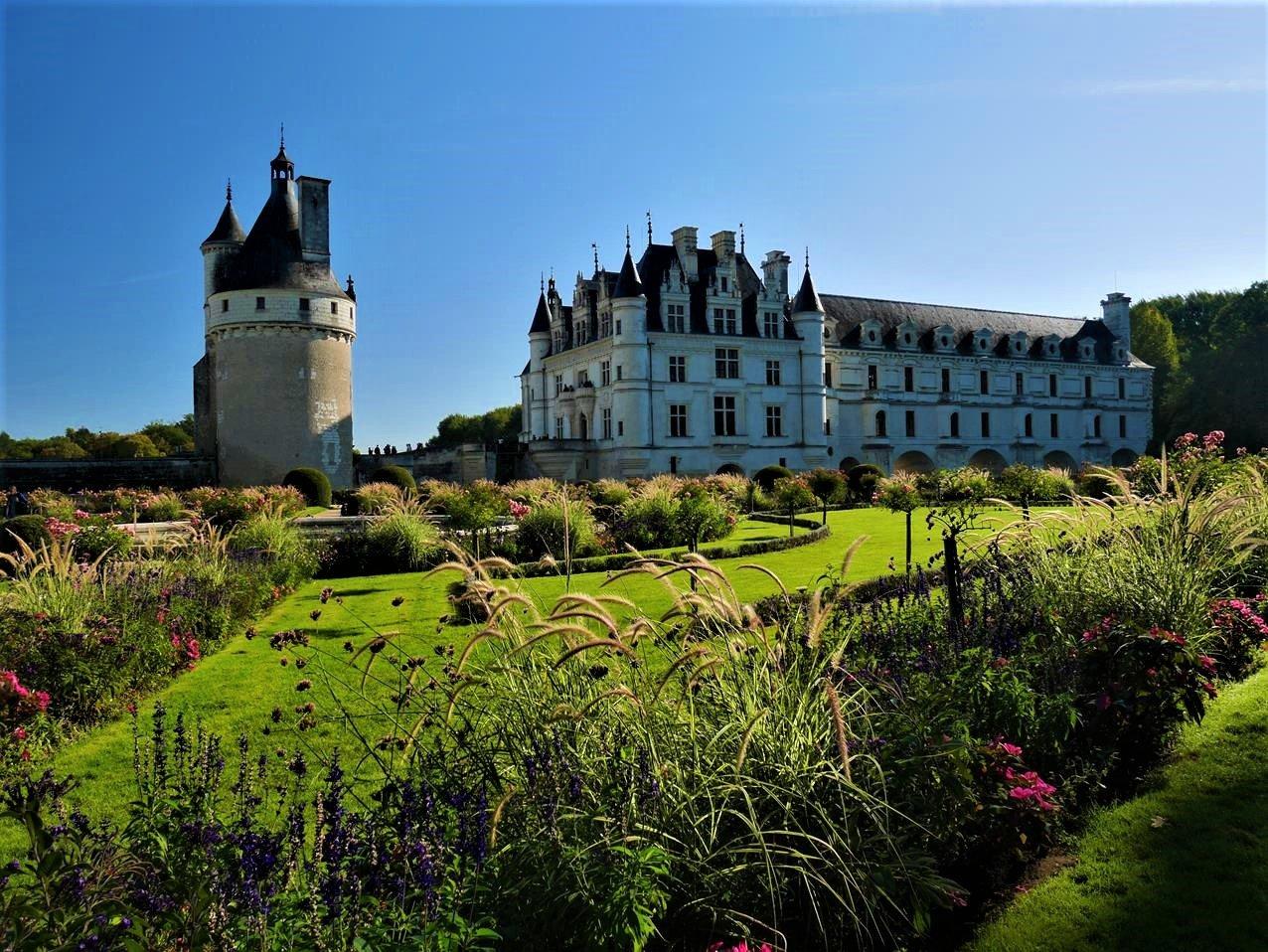 雪儂梭城堡凱薩琳花園