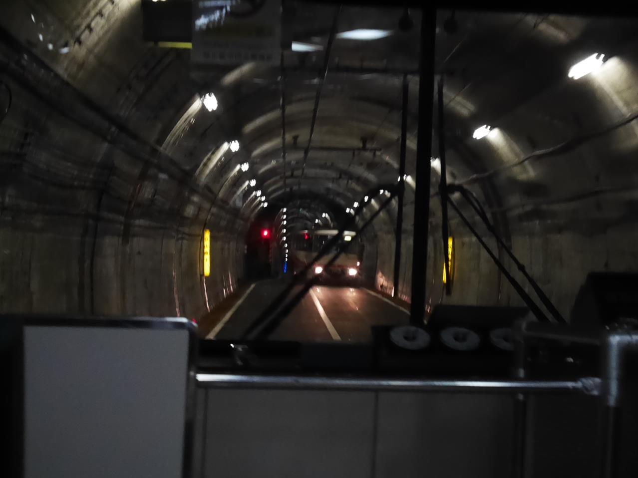 立山隧道無軌電車