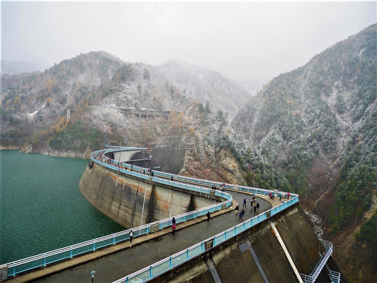 阿爾卑斯路線黑部水庫大壩
