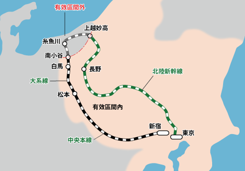 JR東日本長野新潟Pass