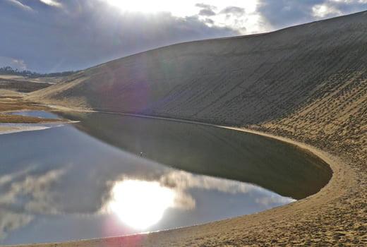 鳥取砂丘綠洲