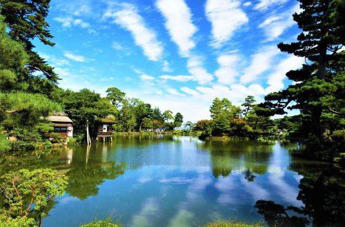 金澤兼六園霞之池