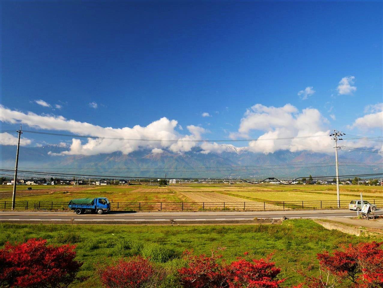 日本中部安曇野