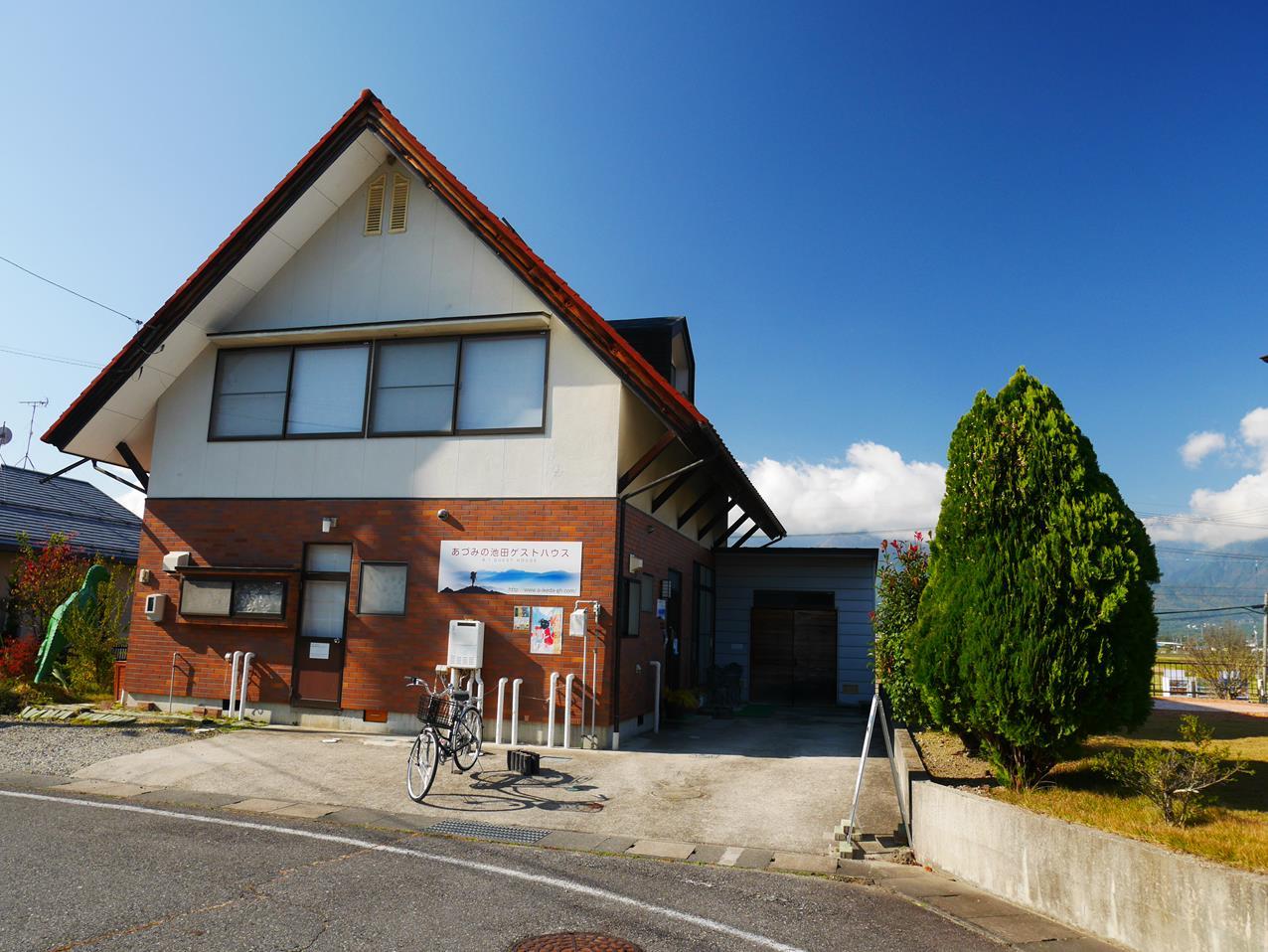 安曇野池田Guest house(あづみの池田・ゲストハウス)