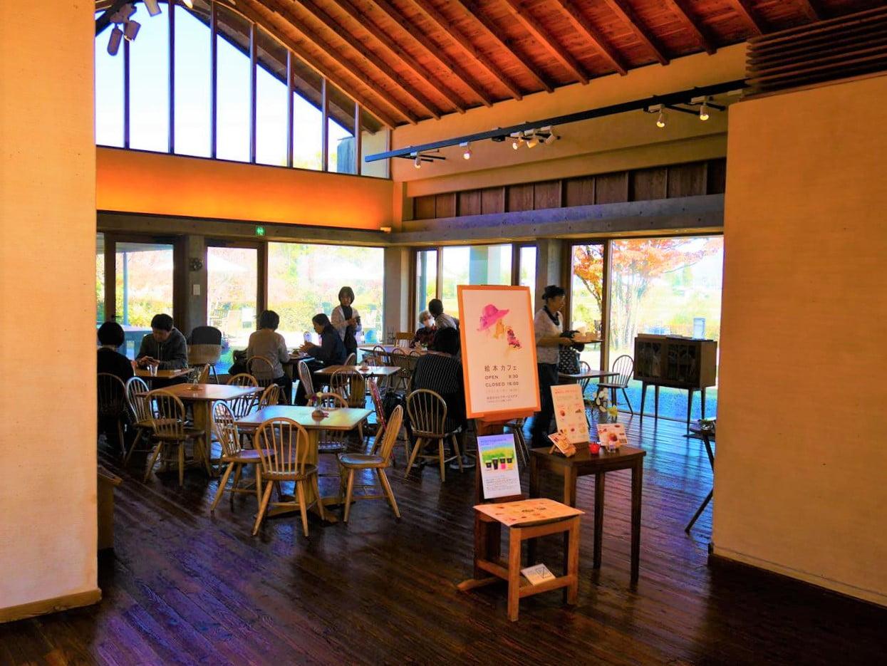 安曇野岩崎知弘美術館咖啡廳