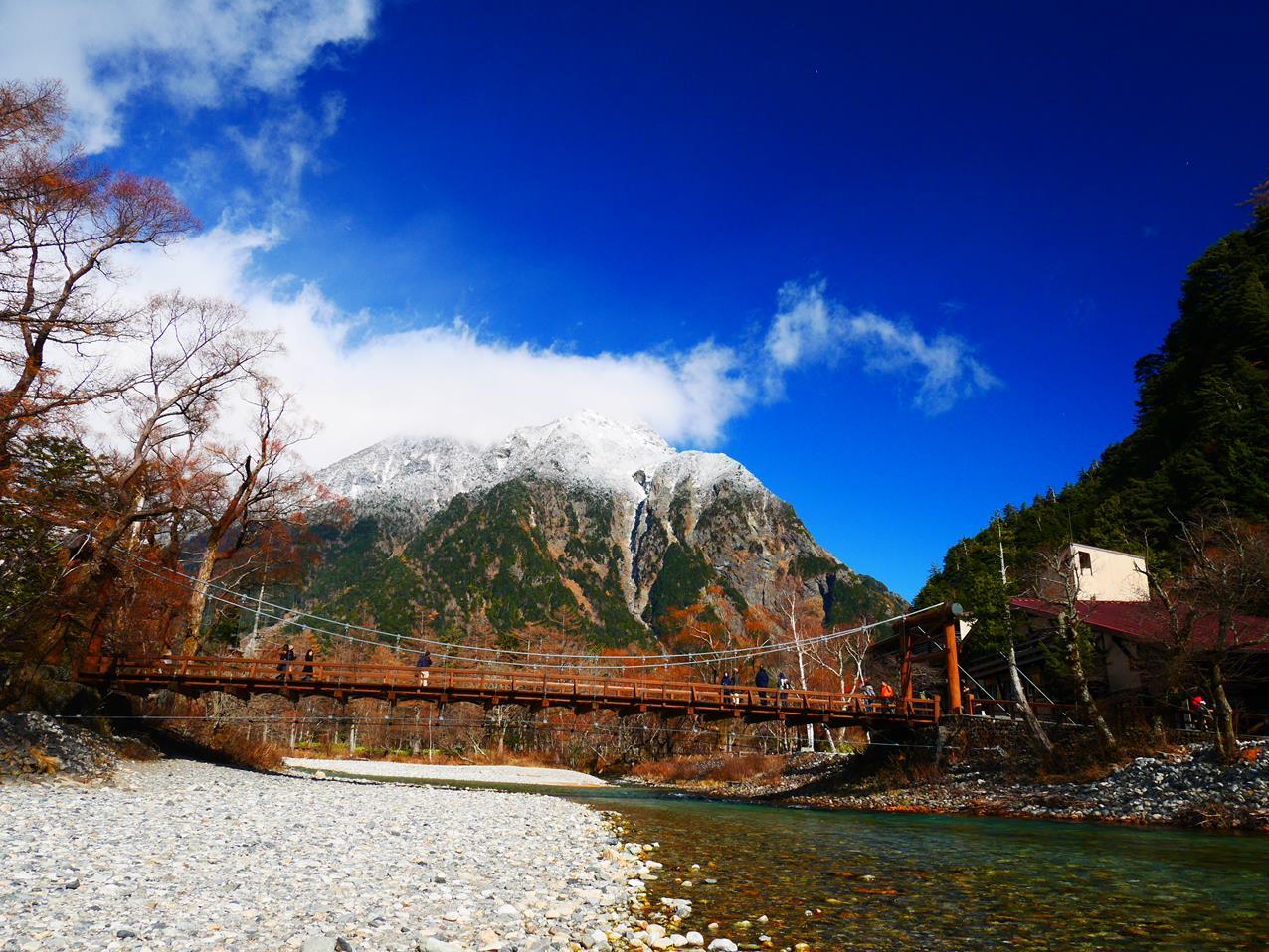 上高地景點河童橋