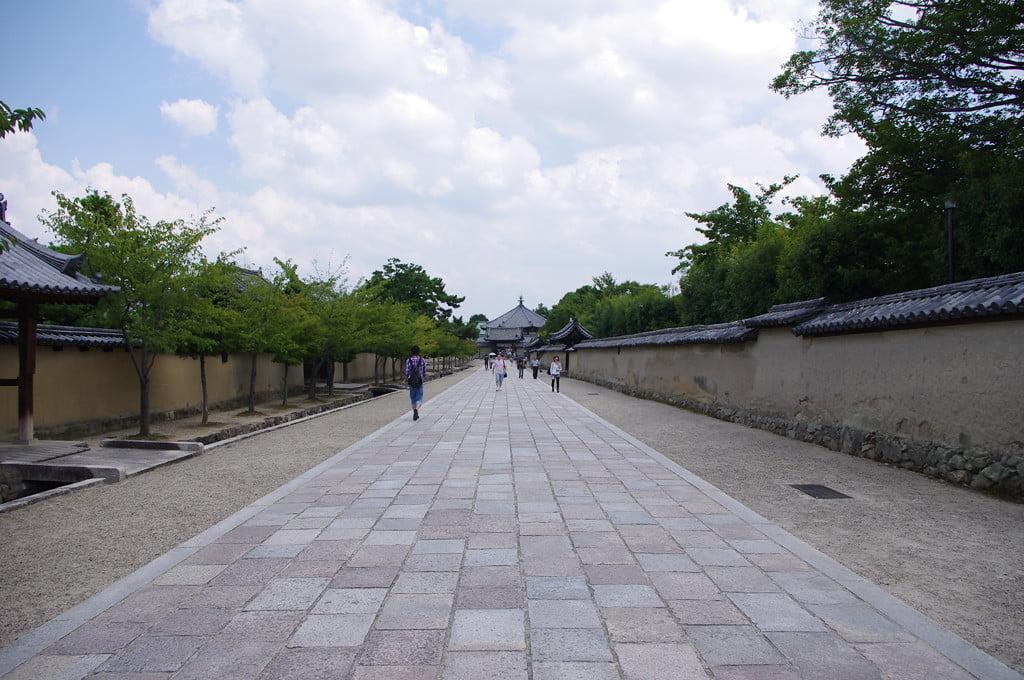 關西奈良法隆寺