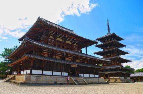 奈良法隆寺金堂