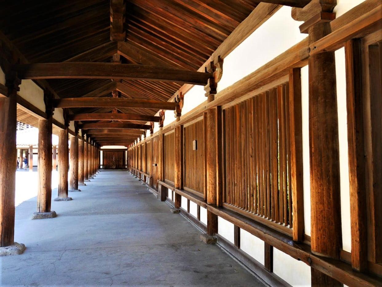 法隆寺迴廊