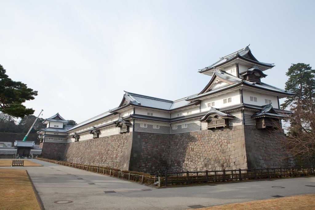 金澤城公園菱櫓
