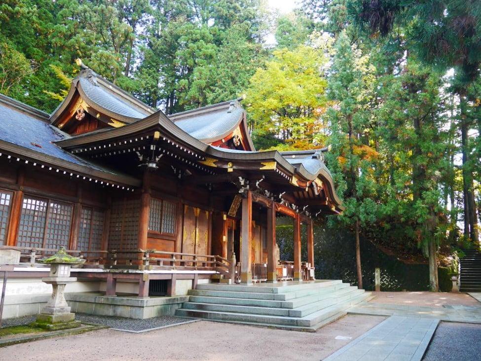 秋之高山祭櫻山八幡宮