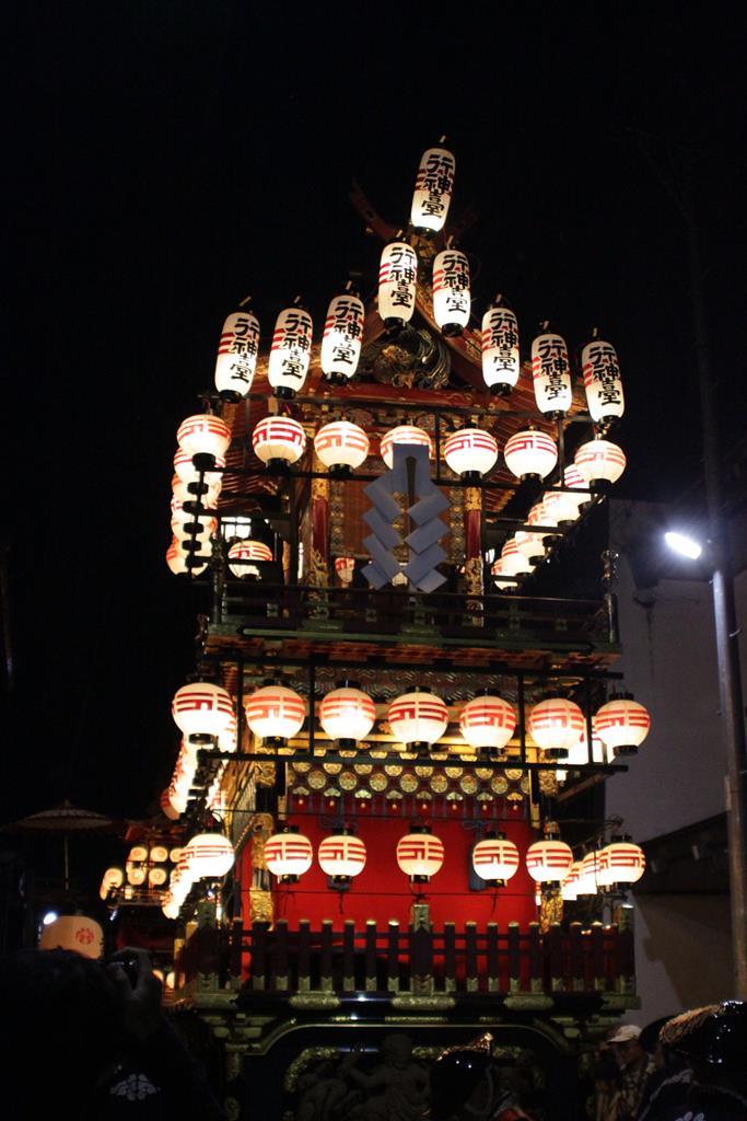 秋之高山祭宵祭