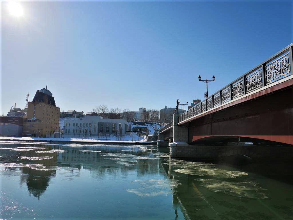 釧路景點幣舞橋