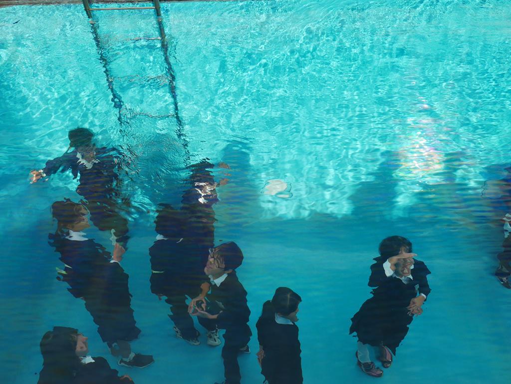 金澤21世紀美術館游泳池