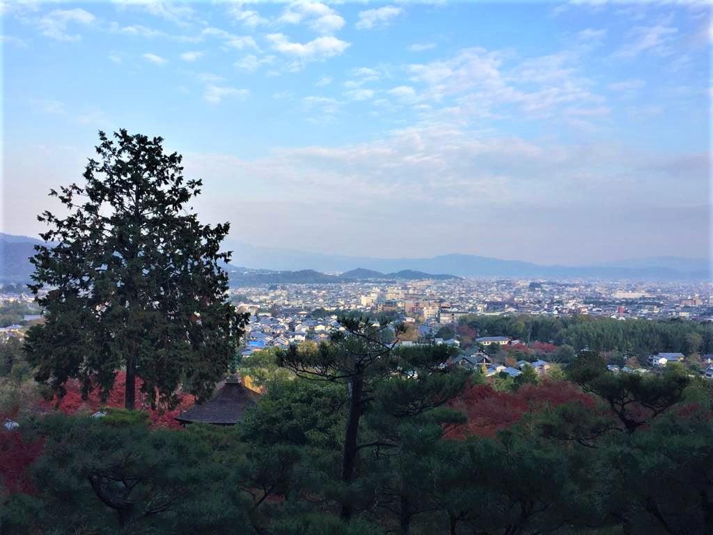 京都常寂光寺展望台