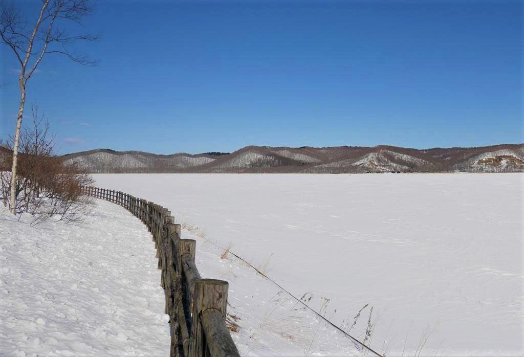 釧路濕原達古武湖
