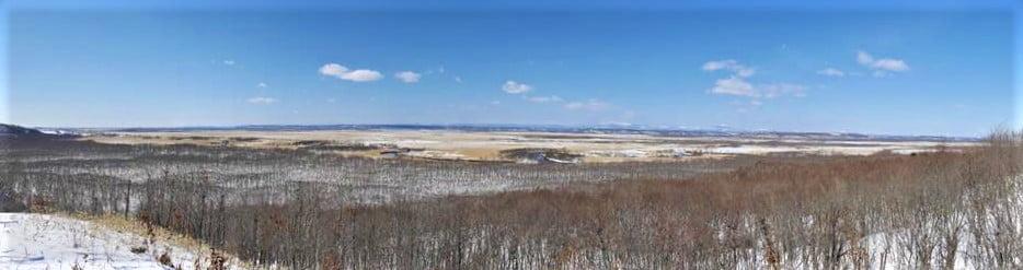 釧路濕原全景