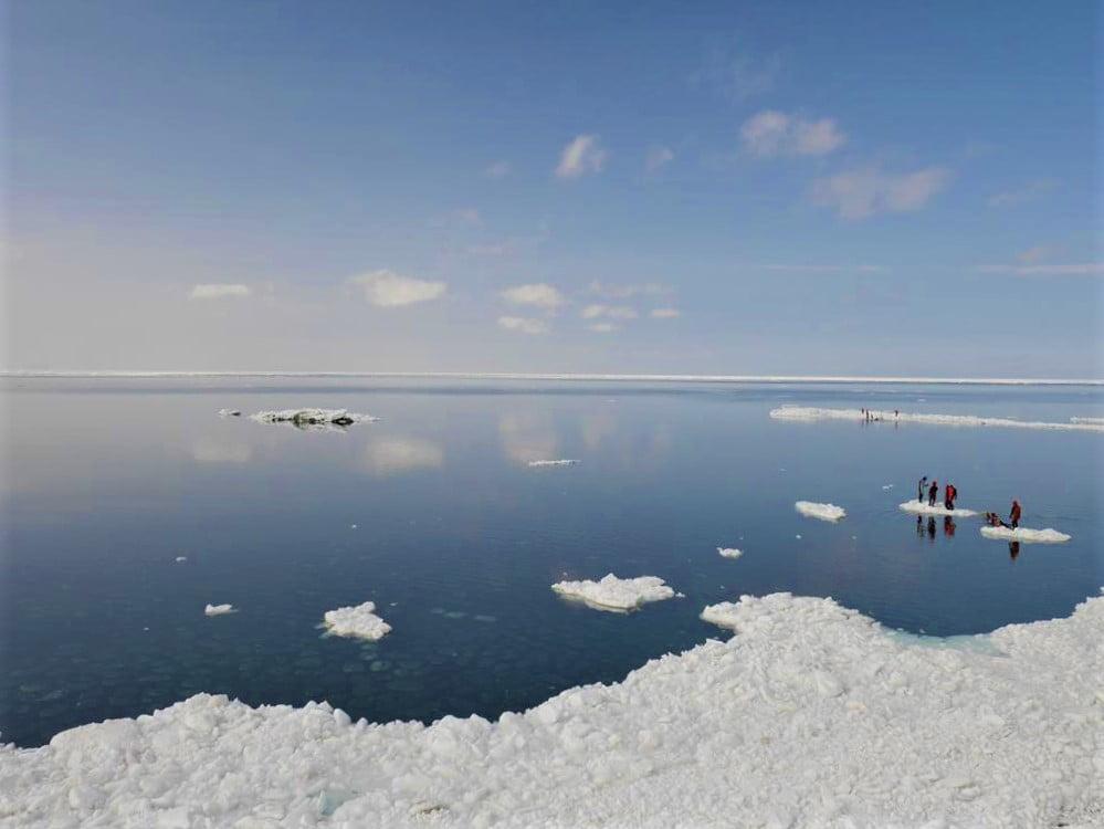 知床流冰散步