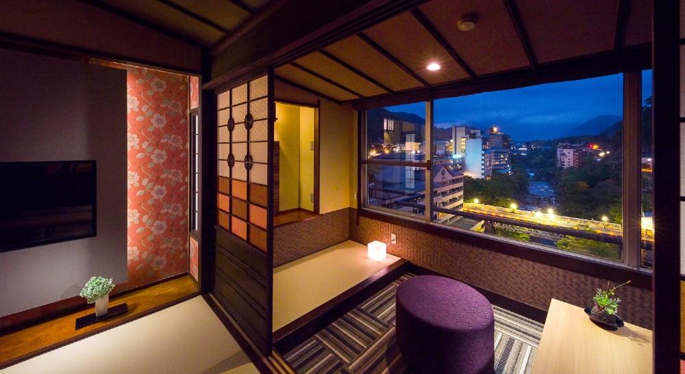 鬼怒川Plaza飯店高層和室