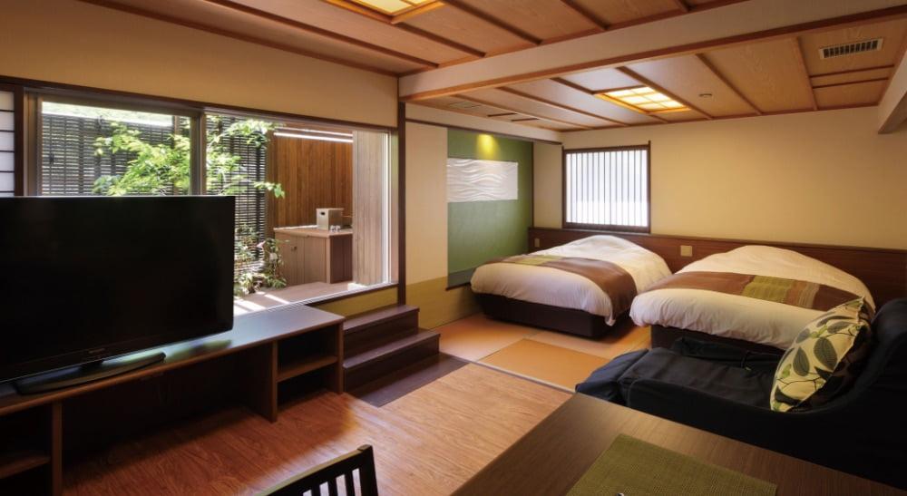 鬼怒川Plaza飯店特別室「翠」