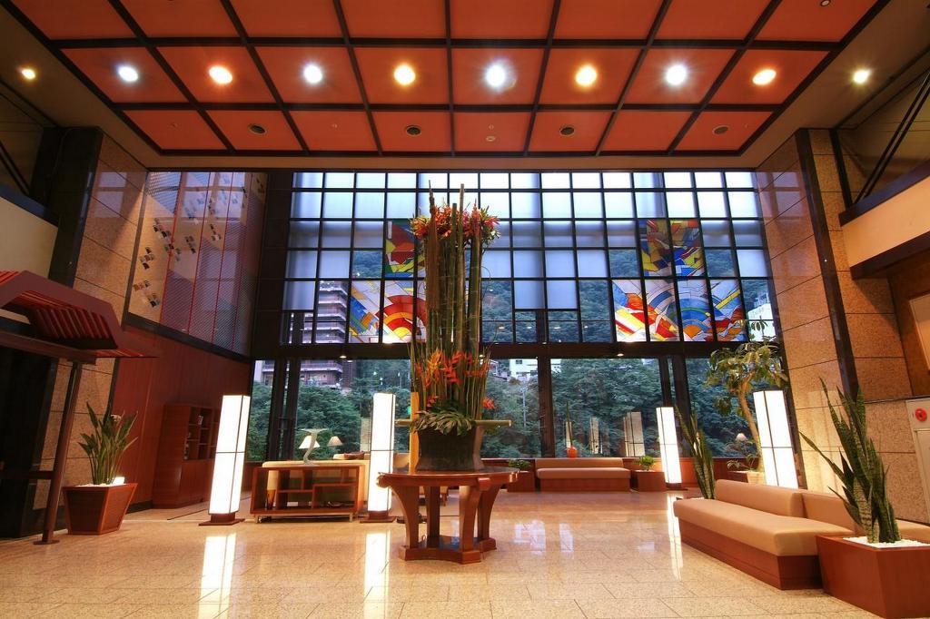 鬼怒川Plaza飯店大廳