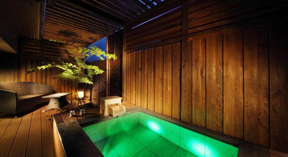 鬼怒川Plaza飯店特別室「翠」露天風呂