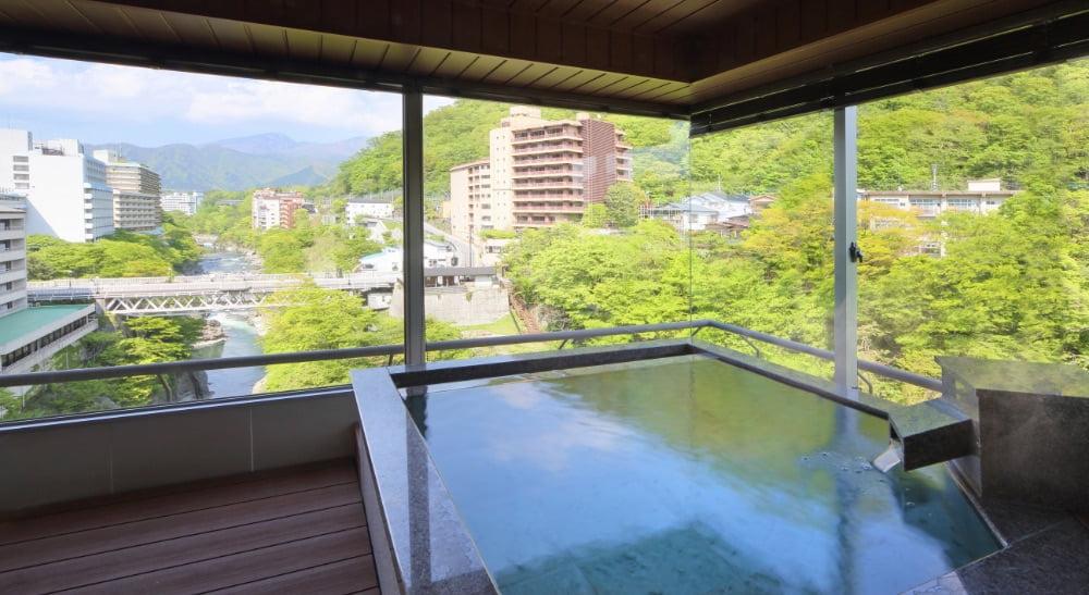 鬼怒川Plaza飯店特別室Hannari
