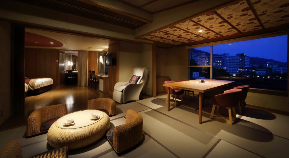鬼怒川plaza飯店特別室 Huuwari