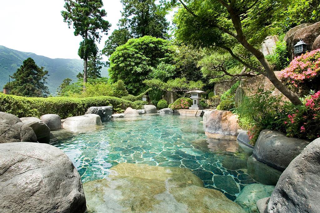 湯之島館展望露天風呂