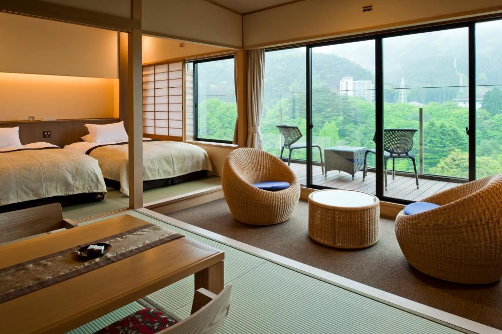 鬼怒川金谷飯店標準和洋室
