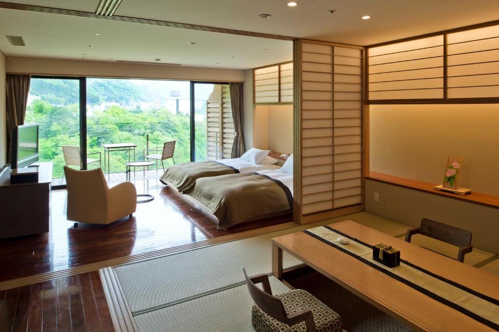鬼怒川金谷飯店和洋室套房