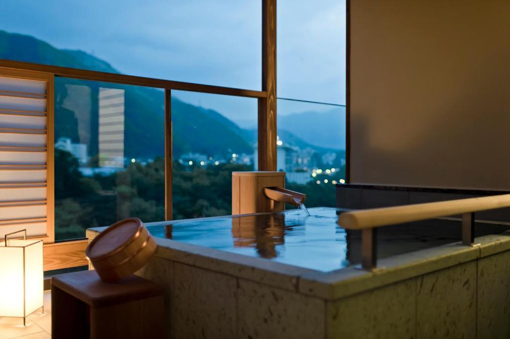 鬼怒川金谷飯店高級和室露天風呂