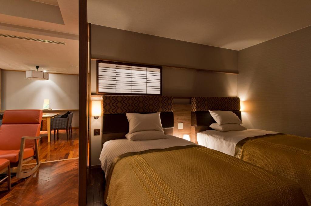 鬼怒川金谷飯店洋室雙床房