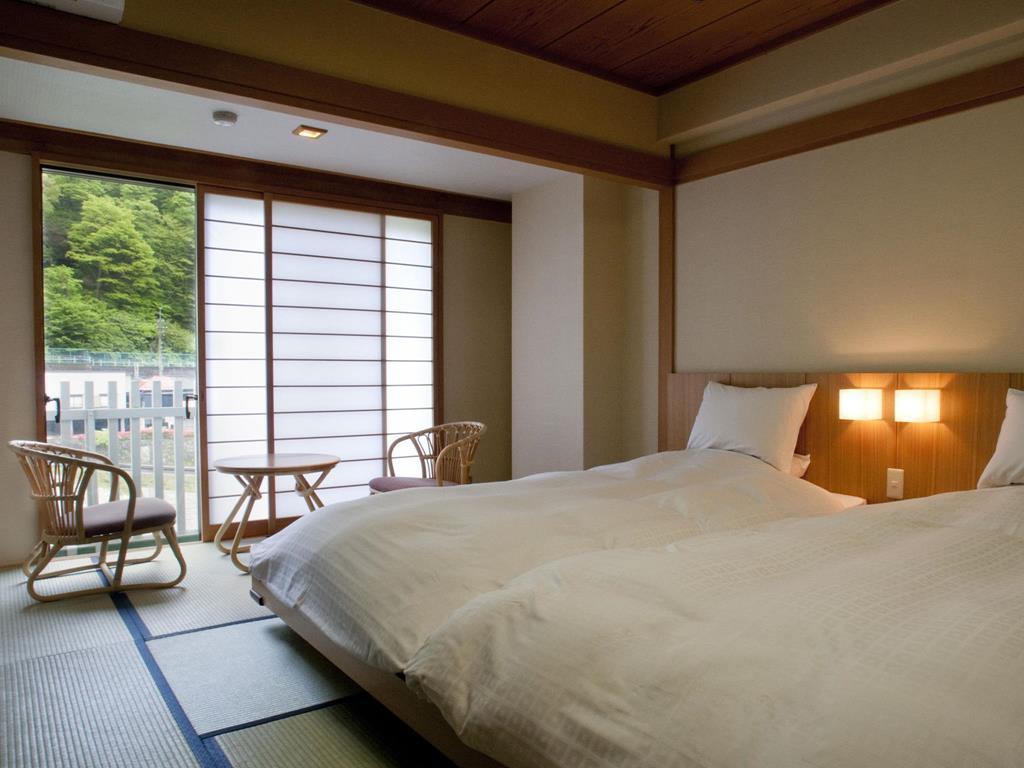 鬼怒川溫泉飯店和室雙床房