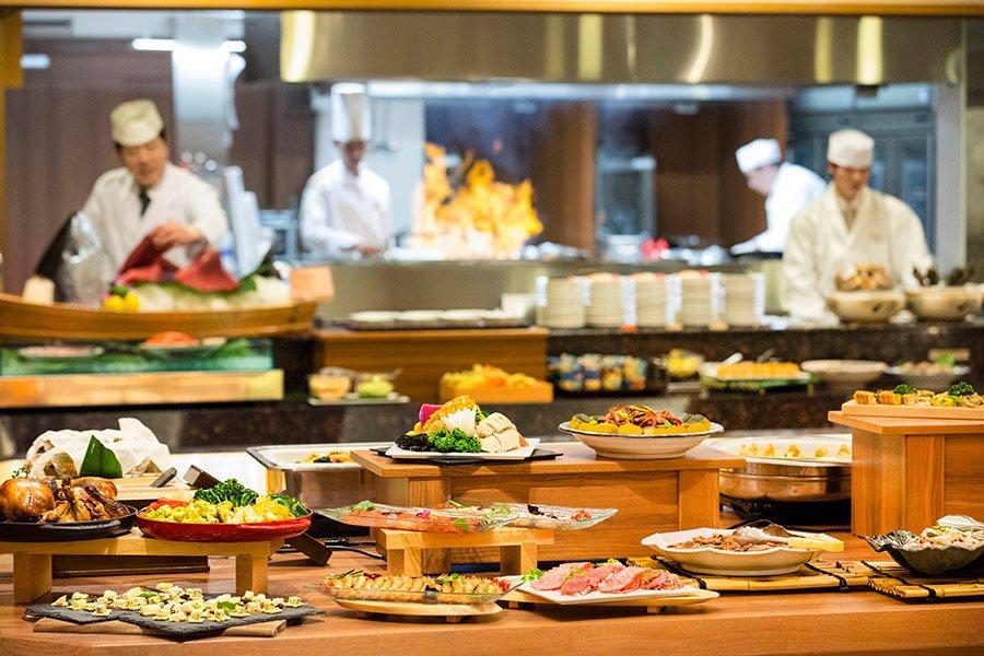 鬼怒川溫泉飯店晚餐buffet