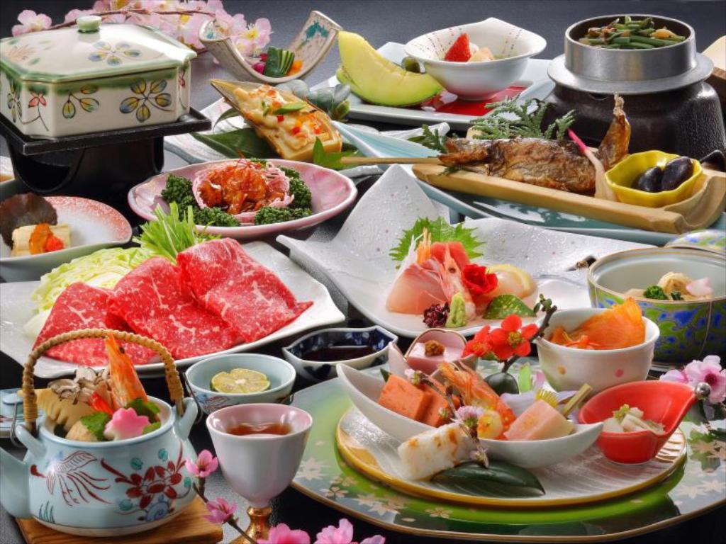 鬼怒川溫泉飯店會席料理
