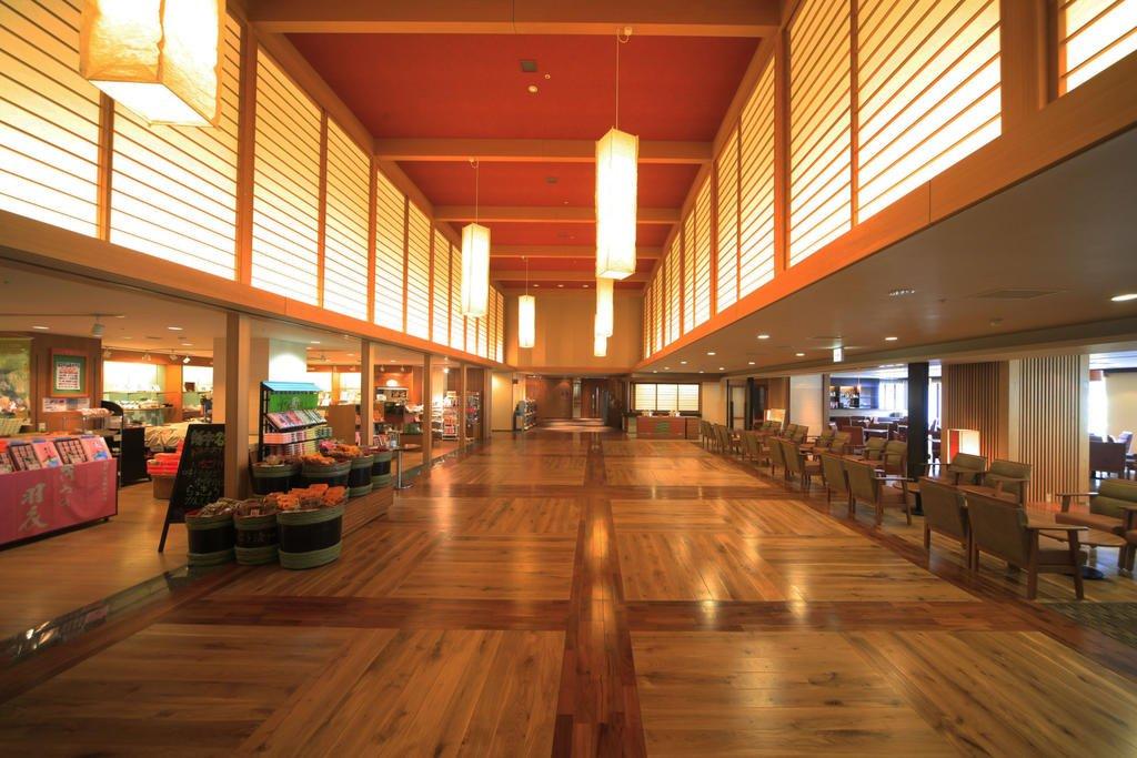 鬼怒川溫泉飯店大廳