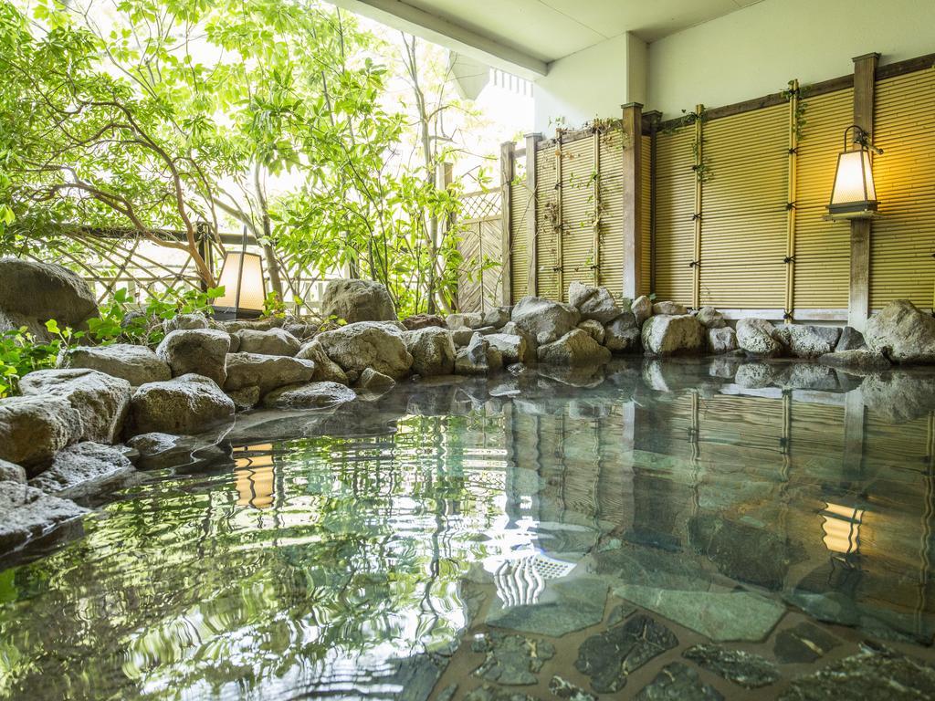 鬼怒川溫泉飯店露天風呂