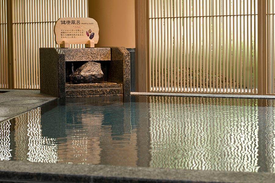鬼怒川溫泉飯店大浴場湯里