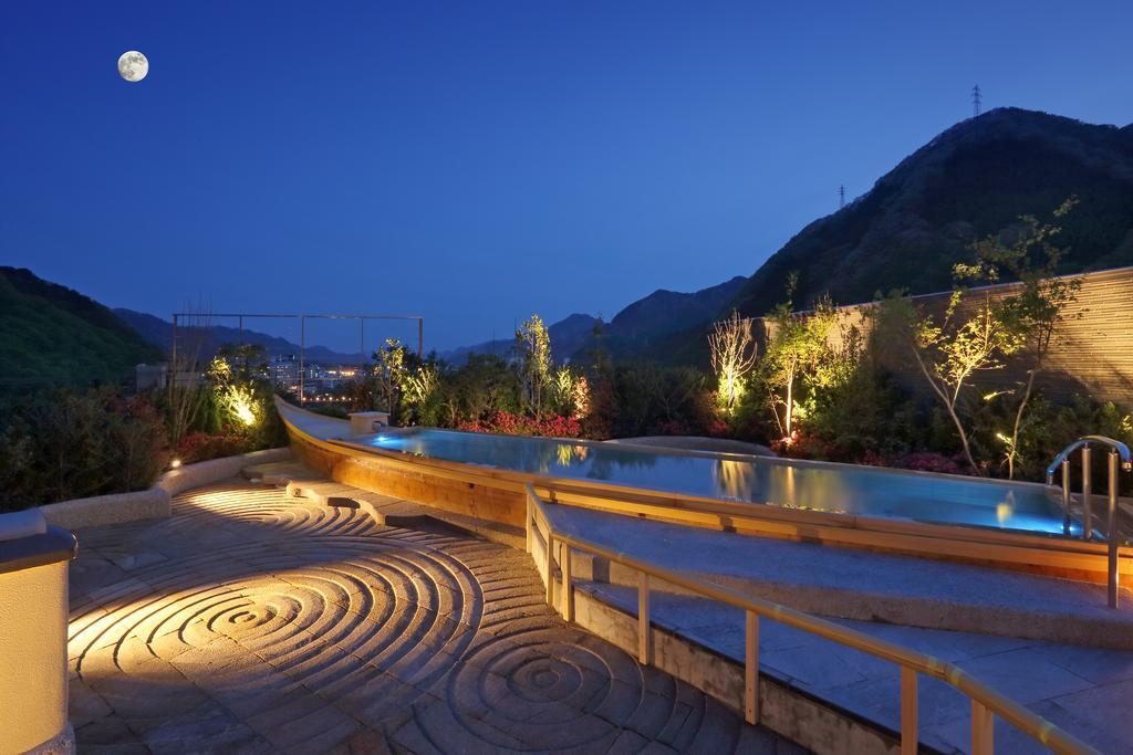 鬼怒川Asaya飯店空中庭園溫泉